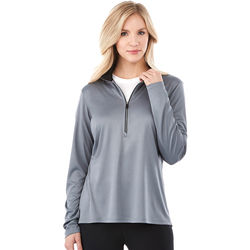 Quick Ship LADIES' Tech Half-Zip Wicking Pullover