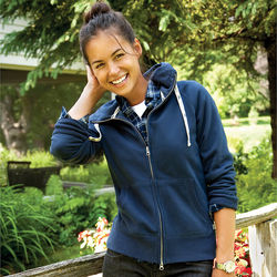 Quick Ship LADIES' Roots73™ Hoody with Retail Inspired Styling and Details