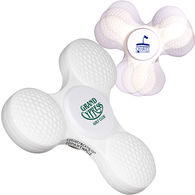 Fidget Spinner - Golf Ball Shape