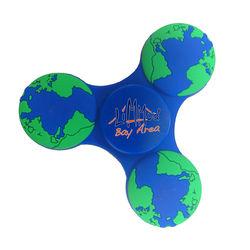 Fidget Spinner - Globe Shape