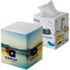Cube Tissue Box with 80 Virgin Pulp Tissues