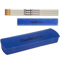 Back-To-School Kit Includes 6 Pencils and a Ruler