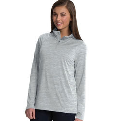 Ladies' Space Dye Performance Pullover