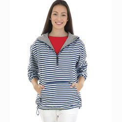 Ladies' Quarter Zip Anorak Jacket - Prints