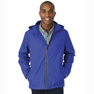 Charles River® Adult Pack 'N Go Full-Zip Jacket with Reflective Trim on Zipper