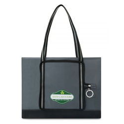 "17"" x 13"" Packable Tote Bag Folds Into Pouch"