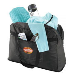 Brookstone® Dash Packable Travel Tote Folds Into Pouch