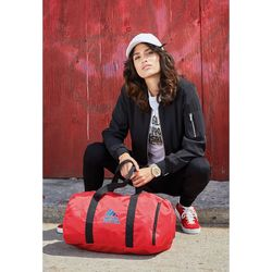 """18"""" Packable Polyester Duffel Bag Folds Into Pouch"""