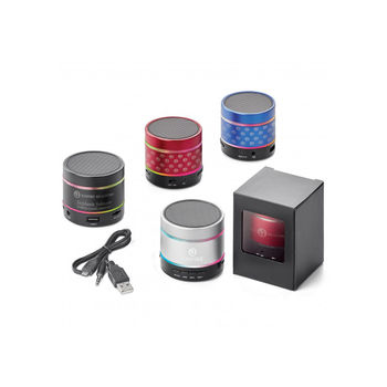 Wireless Bluetooth Speaker with LED Light that Pulses to the Beat!