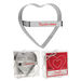 Metal Heart Shaped Cookie Cutter