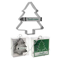 Metal Christmas Tree Shaped Cookie Cutter