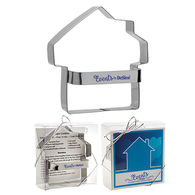 Metal House Shaped Cookie Cutter