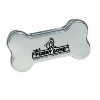 Bone Shaped Tin Filled with Mints