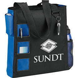 "13"" x 15"" Square Convention Tote with 13"" Drop Handles"