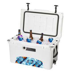 45 Quart Cooler Keeps Your Food Hot/Cold for Days