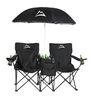 Sideline Vacation with 2 Chairs, Umbrella, Cooler and Speakers