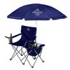 Vacation Chair with Umbrella and 12 Can Cooler