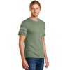 Alternative® Men's Vintage 50/50 Blend T-Shirt with Athletic Striped Sleeves