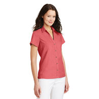 Ladies' Textured Camp Shirt
