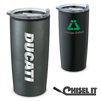 17 oz Stainless Steel Tumbler with Plastic Liner