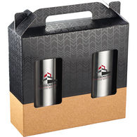 Hot/Cold Vacuum Insulated Cork Drinkware Set