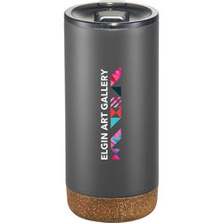 16 oz Hot/Cold Vacuum Insulated Tumbler with Cork Base
