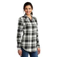 Ladies' Plaid Flannel Shirt