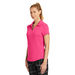 Ladies' Nike &reg'  Wicking Polo Shirt with Subtle Grid Texture