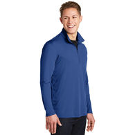 Men's 100% Polyester Lightweight Pullover with Collar - BUDGET