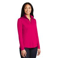 Ladies' 100% Polyester Lightweight Pullover Sweatshirt with Collar - BUDGET