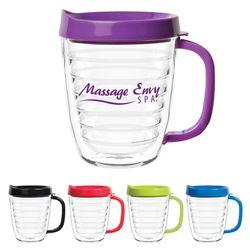 12 oz. Double-Wall Acrylic Coffee Mug