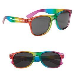 Sunglasses with Rainbow Frames