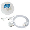 Apple® Certified 3-in-1 Charging Cable