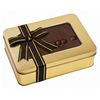 Large Chocolate Box with Edible Chocolate Lid and Filled with Truffles