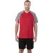 Quick Ship MEN'S Retail-Inspired  Athletic Color Block Wicking T-Shirt