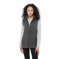 Quick Ship Ladies' Microfleece Vest - GOOD