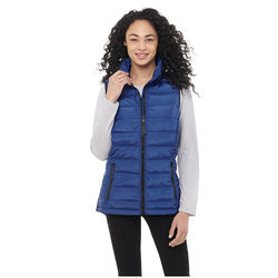 Quick Ship LADIES' Water Repellent Vest - Lightweight Polyester Insulation