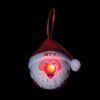 Light-Up LED Santa Ornament