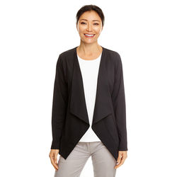 Ladies' Draped Open Blazer