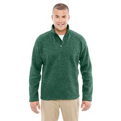 Men's Quarter-Zip Pullover Fleece Sweater