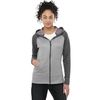Quick Ship LADIES' Medium Weight Color Block Full Zip Hoodie - BEST