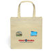 """13"""" x 13"""" Natural-Look Laminated Tote with Full-Color Printing"""