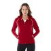 Quick Ship LADIES' Full Zip Hoodie with Contrast Stitching