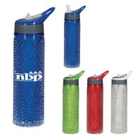 20 oz Freezable Water Bottle Keeps Drinks Cold for Hours