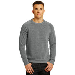 Alternative Apparel&reg Eco Long-Sleeve Basic Fleece Crew