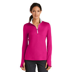 Nike® Golf Ladies' Dri-FIT Stretch 1/2-Zip Cover-Up