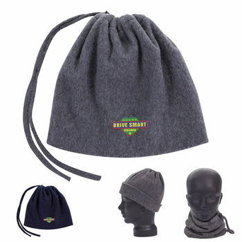 Keep Warm With This 2-in-1 Neck Warmer and Hat