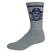 Super Soft Crew Sock with Knit-In Logo (Longer Ship)