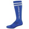 High Performance Moisture Wicking Knee High Sock with Knit-In Logo (Longer Ship)