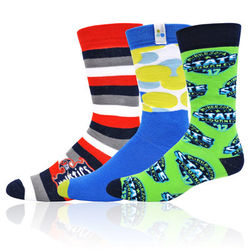 Pantone Color Matched Athletic Socks with Knit-In Logo (Longer Ship, Higher Mins)